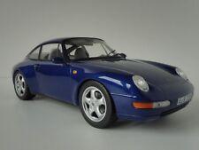 Porsche 911 Carrera anno di costruzione 1994 Iris Blu Metallizzato 1 18 Norev