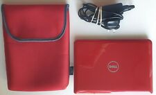 Dell Inspiron Mini 10 Notebook, Red, Case and Charger