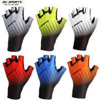 Half Finger Cycling Gloves MTB Road Bike Bicycle Mitts Fingerless Riding Gloves