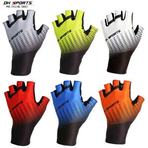 Half Finger Cycling Gloves Bicycle Mitts MTB Road Bike Fingerless Riding Gloves