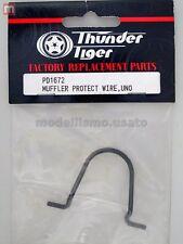 Thunder Tiger PD1672 Protezione Scarico Uno Muffler Protect Wire modellismo