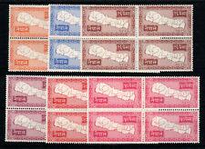 More details for nepal sg 90-95 mnh blocks of 4
