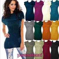 Coprispalle donna cappa collo poncho maglia lana tricot rosellina AS-9101