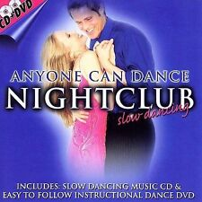 New: Various Artists: Anyone Can Dance: Nightclub Slow Dancing [CD + DVD] Specia