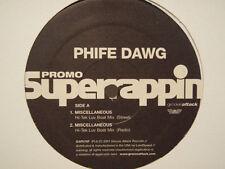 "PHIFE DAWG - MISCELLANEOUS (HI-TEK LUV BOAT REMIX) (12"")  2001!!  RARE!!  ATCQ!!"
