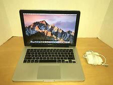 """Apple MacBook Pro 13"""" Intel Core i5 2.3GHz 4GB RAM - 320GB HDD 10.12 MC700LL/A"""