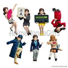 FUCHIKO HEISEI ERA Cup Edge Figure (COMPLETE 7 PCS) KITAN CLUB X GEORGIA JAPAN