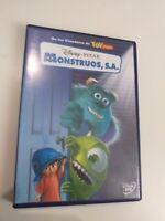 DVD  Monstruos , s.a  Disney  pixar