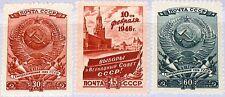 Russia Unione Sovietica 1946 1008-10 1026-28 election Supreme SOVIET USSR elezioni MNH