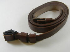MAUSER 98 K LEATHER SLING WITH KEEPER