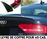 LAME LEVRE COFFRE SPOILER BECQUET AILERON pour AUDI A5 CABRIOLET 8F7 2012-2017