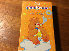 VHS MOVIE. CARE BEARS.LAUGH-A-LOT BEAR.CARING FOR SPRING.NELVANA