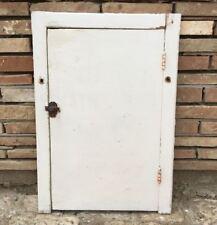 Antica vecchia anta pannello sportello in legno massello armadio a muro porta