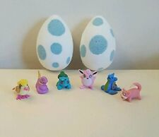 2 pokemon go inspired egg bath bomb bombs mini toy inside hand made