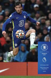 Chelsea v Norwich City - FA Premier League - 23 October 2021 - Official - Mint