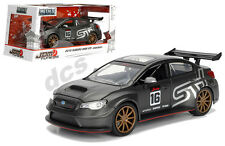 JADA JDM TUNER IMPORT SUBARU WRX STi WIDE BODY PRIMER CHARCOAL GREY 1/24 99090