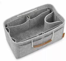Foregoer Felt Purse Insert Handbag Organizer Bag In Bag With Handles, Medium