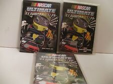 NASCAR 3 DVD LOT OFFICIALLY LICENSED 2001-02 FREE SHIP/GIFT