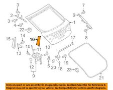 AUDI OEM 12-16 A7 Quattro Liftgate Tailgate Hatch-Inner Cover Right 4G8827992A