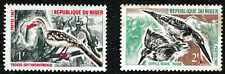 1967 Niger 'Red-billed Hornbill/Gauthier Kingfisher' Birds Stamps set of 2 - MUH