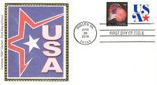USA Non Profit Org. Coil Stamp Fdc Sc#5061 2016 Colorano Silk Limited Edition