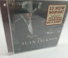 """ALAN JACKSON, CD """"LIKE RED ON A ROSE"""" NEW SEALED"""