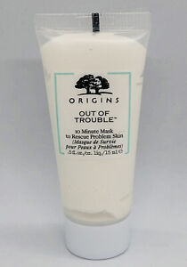 Origins Out Of Trouble 10 Minute Mask To Rescue Problem Skin 15ml Travel Size