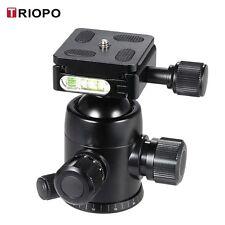 TRIOPO B-2 Tripod Head Ball Head w/Built-in Double Spirit Levels for DSLR Camera