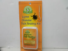 Lyme-aid Diagnostic Tick Remover & Testing Kit for Humans & Pets - 1 Pack NEW