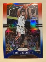 2019-20 Panini Prizm Lonnie Walker IV Red White Blue Prizm SP #139 - MINT! RARE!