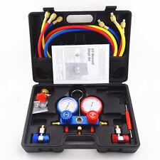 Air-Conditioning Manifold Gauges Tool Set AC Refrigeration Kit Car Auto R134A