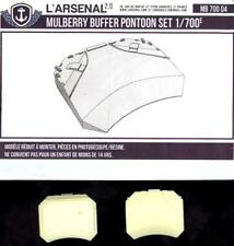 L'Arsenal Models 1/700 MULBERRY BUFFER PONTOON (2) Resin Set