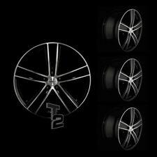 4x 20 Zoll Alufelgen für VW Touareg / Dezent TH dark 9x20 ET42 (B-4600308)