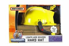 Matchbox Lights & Sounds Construction Hard Hat ~ NEW ~ FREE SHIP IN CONTINENT US