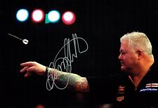 Darryl FITTON Signed 12x8 Autograph Photo 2 AFTAL COA Darts Player WDF BDO