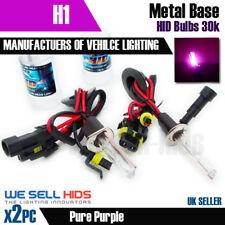 H1 35 W HID Xenon Kit Reemplazo Metal Basado 30000K Bombillas Púrpura Reino Unido Stock