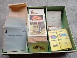 Jeu ancien vintage L'imagier du père castor : pour associer images et mots