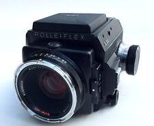 Rolleiflex SL 66 E, komplett Planar 2,8/80, Magazin 6x6, Lichtschacht, Rollei