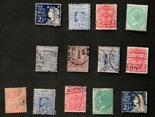 New South Wales 1905-06 Mixed Lot of 13 Stamps