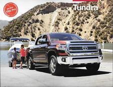 2015 15 Toyota  Tundra  oiginal sales brochure