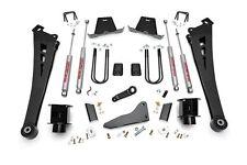 "Dodge Ram 3500 Pickup 5"" Suspension Lift Kit w/ N2.0 Series Shocks 2013-2015 4WD"