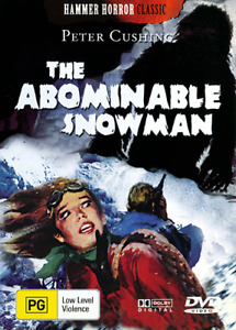 Peter Cushing THE ABOMINABLE SNOWMAN - CLASSIC HAMMER HORROR DVD