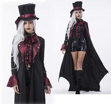 Womens Deluxe Ripper Gothic Steampunk Vampire Halloween Costume