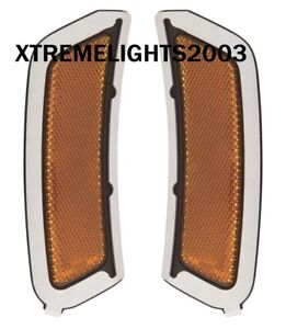 FITS AUDI Q7 2017-2019 RIGHT LEFT FRONT SIDE MARKER LIGHTS LAMPS PAIR NEW