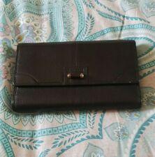 ef9019e6c4 LE TANNEUR Black French Leather Soft Wallet Purse C14