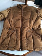 Donna Karan Collection XL Men's Coopery/Brown Parka Coat