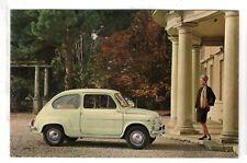 cartolina postcard FIAT 600 D