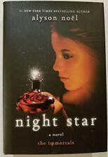 Night Star by Alyson Noel Hardcover Book (English 1st Edition Nov 2010)