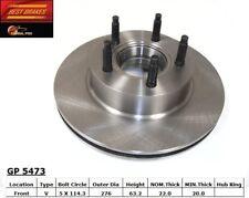 Disc Brake Rotor-4WD Front Best Brake GP5473