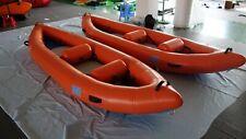 Inflatable Drop Stitch Pvc Self Baling White Water River Raft Kayak Canoe New